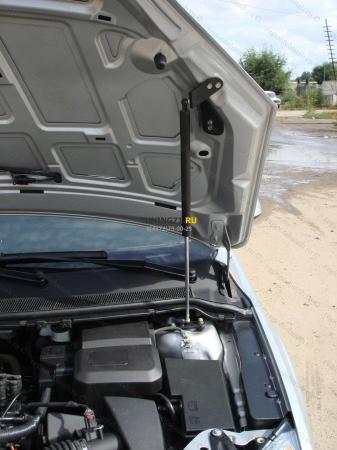2011 -  Hyundai Solaris Амортизаторы капотаАмортизационные стойки 2 шт., крепеж