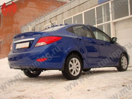 АБС-пластик Лип-Спойлер Hyundai Solaris