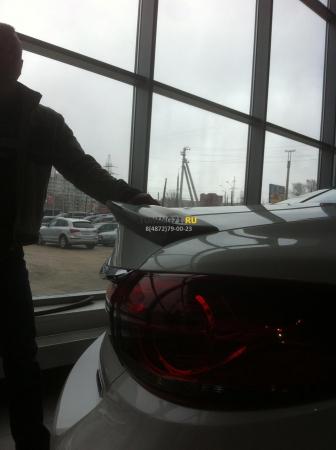 2012 -  Mazda 6 Лип спойлер MPS Style ABS пластик Спойлер 1 шт.