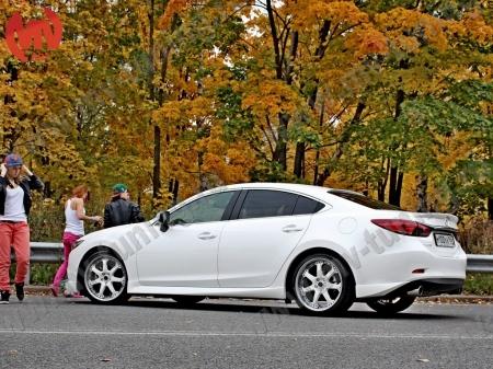АБС-пластик Пороги SkyActivSport Mazda 6 2013-