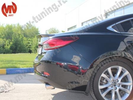 Полиуретан Спойлер на крышку багажника Mazda 6 2013- BROOMER Design
