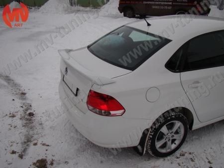 АБС-пластик Спойлер высокий VW Polo Sedan