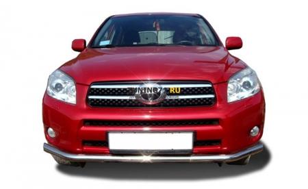 Защита переднего бампера Toyota RAV4 2006 60