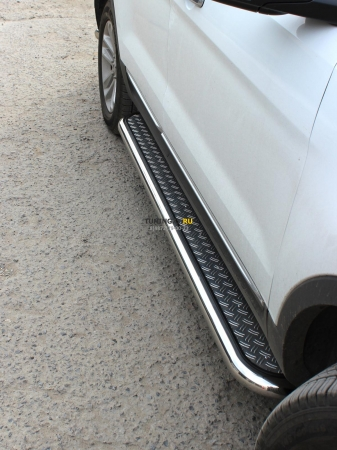 Ford Explorer SPORT 2013г.-наст.вр-Пороги лист d-60